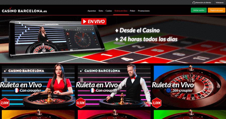 Barcelona Casino Ruleta en Vivo
