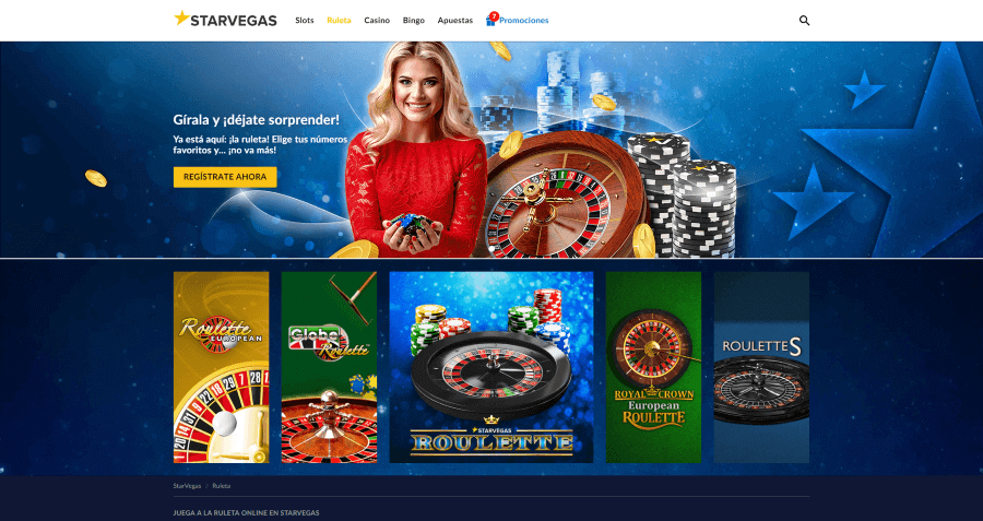 Starvegas Casino Ruleta